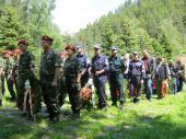 Тържествено честване на 2 юни на връх Средногорец