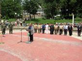Зам.-кметът на Смолян Венера Аръчкова поздрави завърналия се от Афганистан контингент
